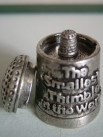 smallest thimble 1