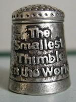 smallest thimble 3